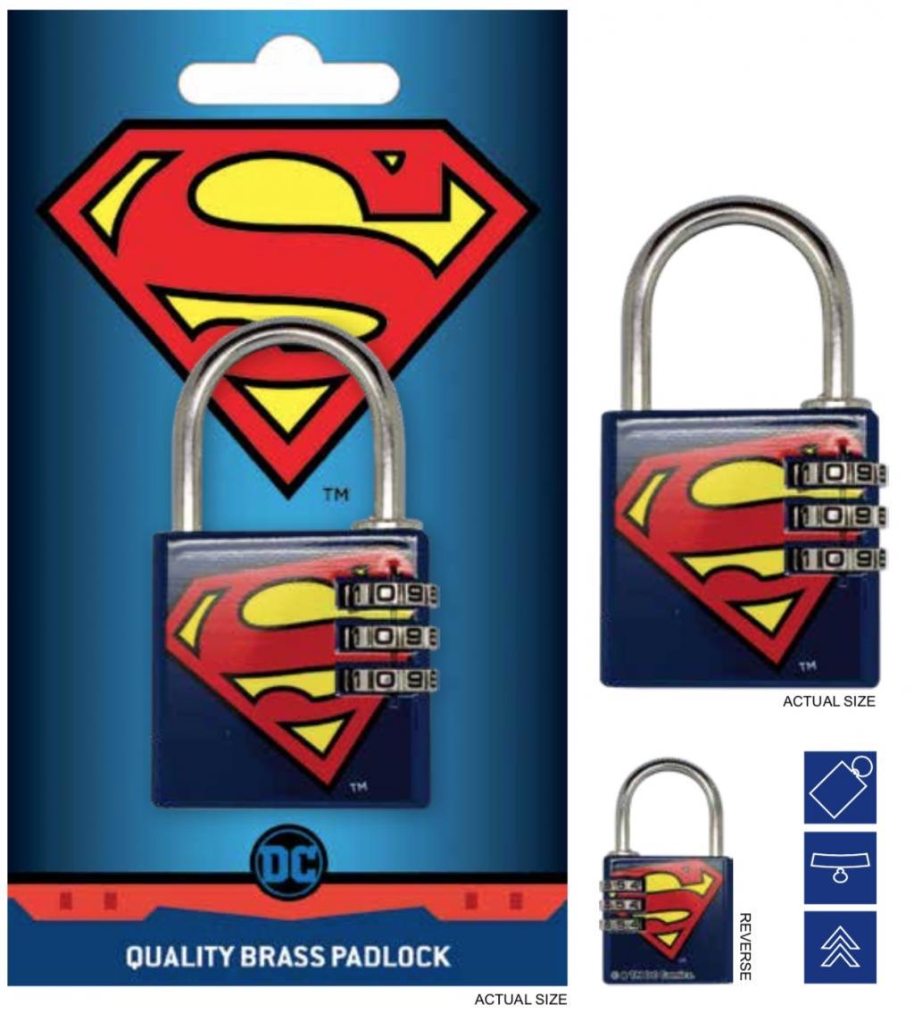 DC COMICS - Cadenas avec code - Superman