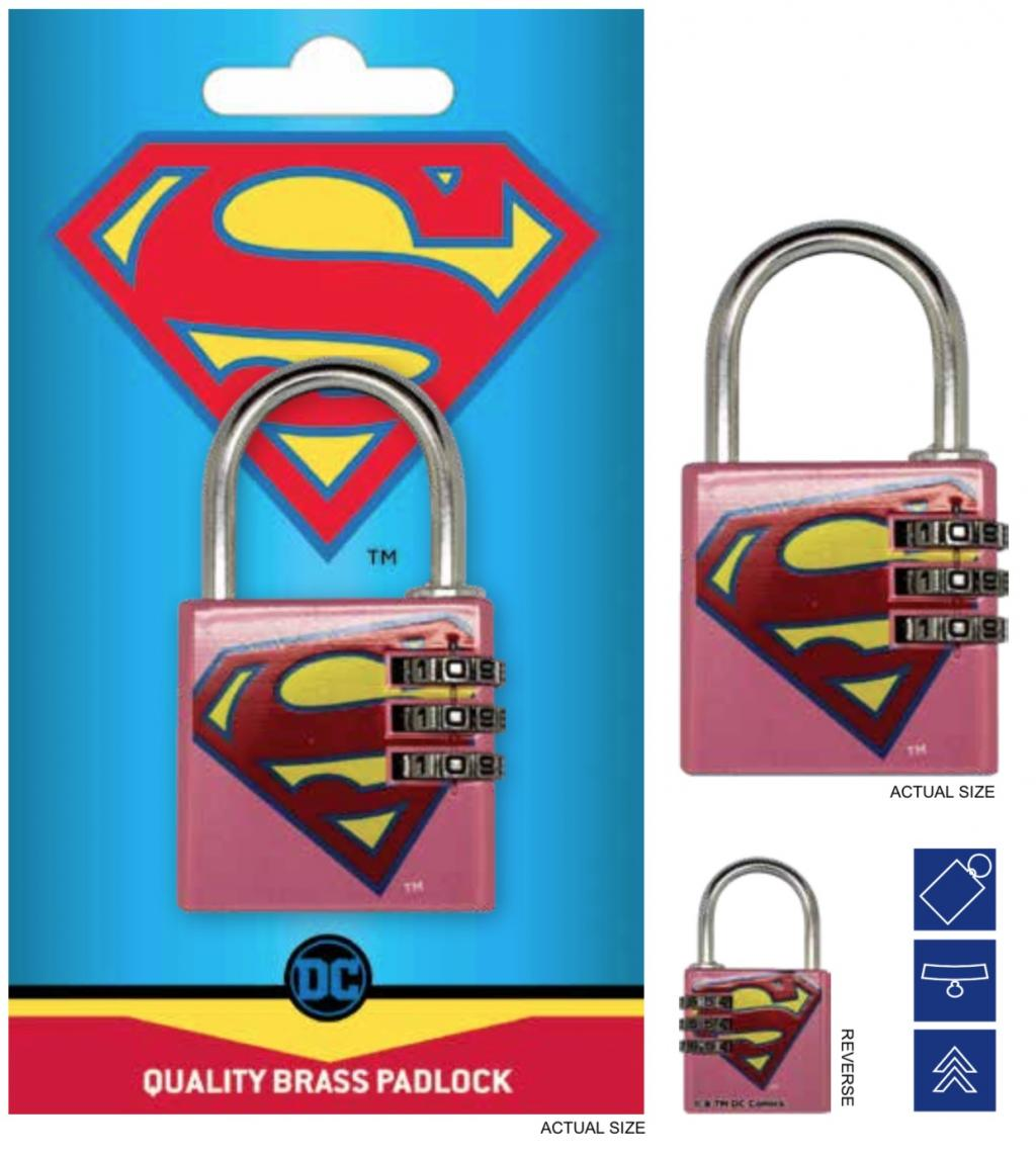 DC COMICS - Cadenas avec code - Supergirl