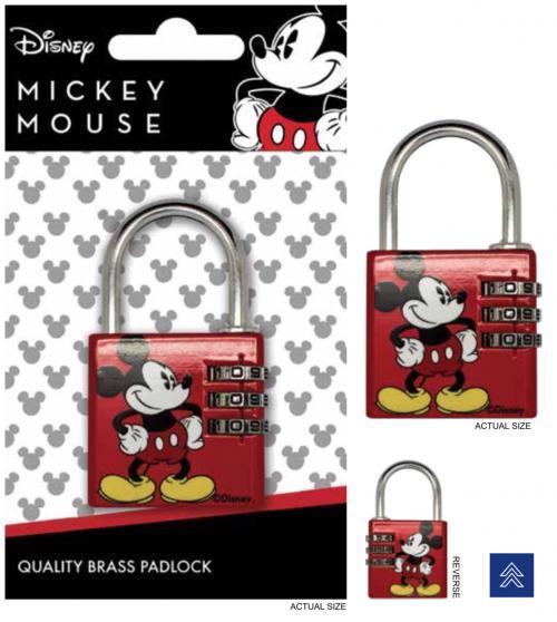 DISNEY - Mickey Mouse - Cadenas avec code