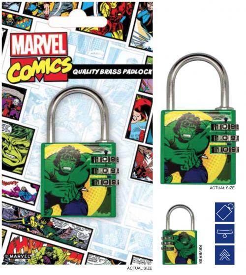 MARVEL - Cadenas avec code - Hulk