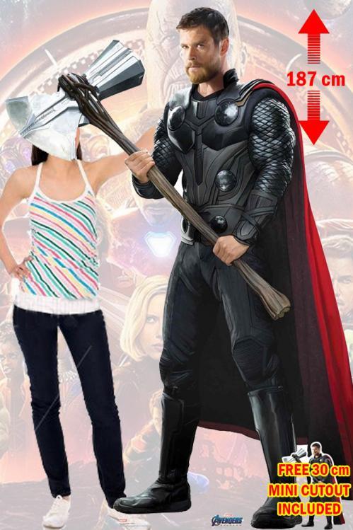 MARVEL - Lifesize Cutout - Endgame Thor - 187cm