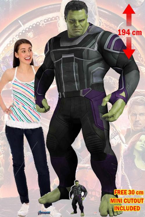 MARVEL - Lifesize Cutout - Endgame Hulk - 194cm