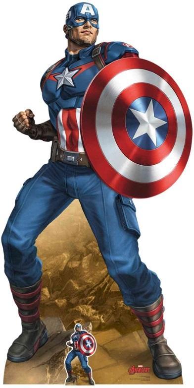 AVENGERS - Lifesize Cutout - Captain America - 184cm