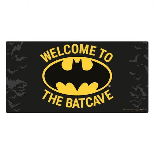 BATMAN - Welcome to the Batcave - Plaque en métal