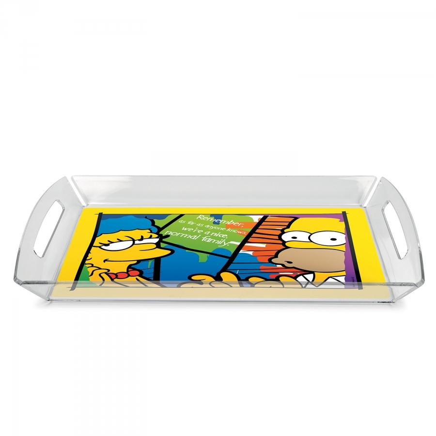 THE SIMPSONS - Plateau de Service avec set de Table '37x25 cm'