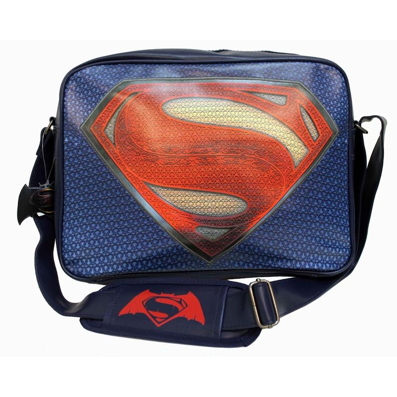 BATMAN vs SUPERMAN - Messenger Bag Superman Logo