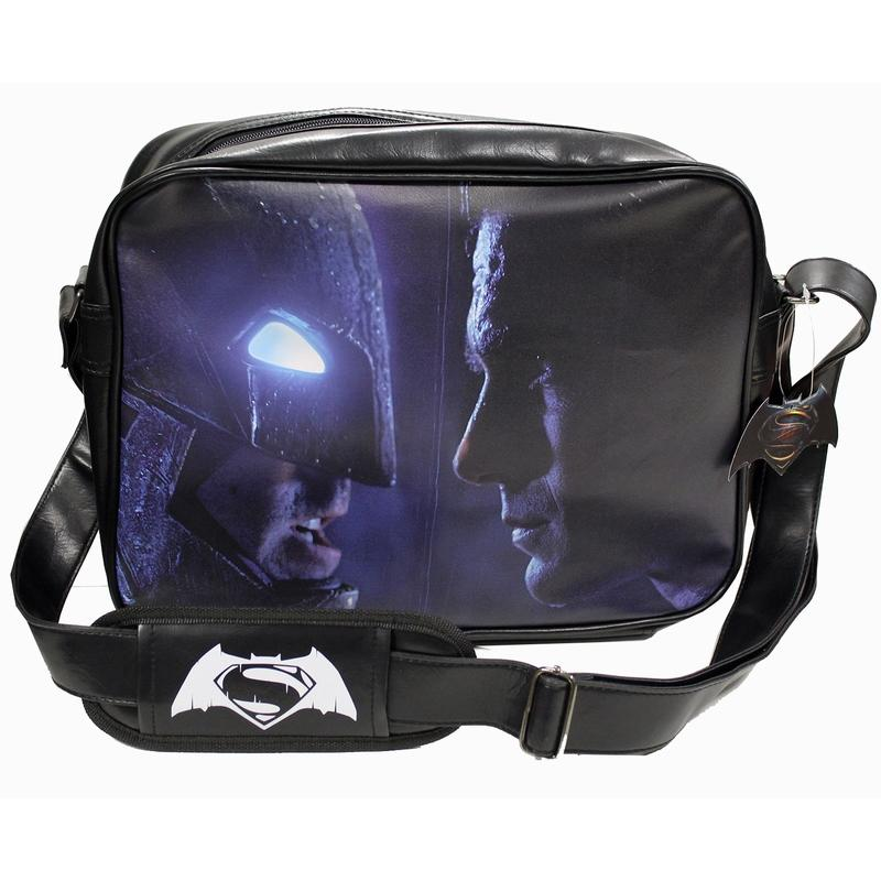BATMAN vs SUPERMAN - Messenger Bag Face to Face