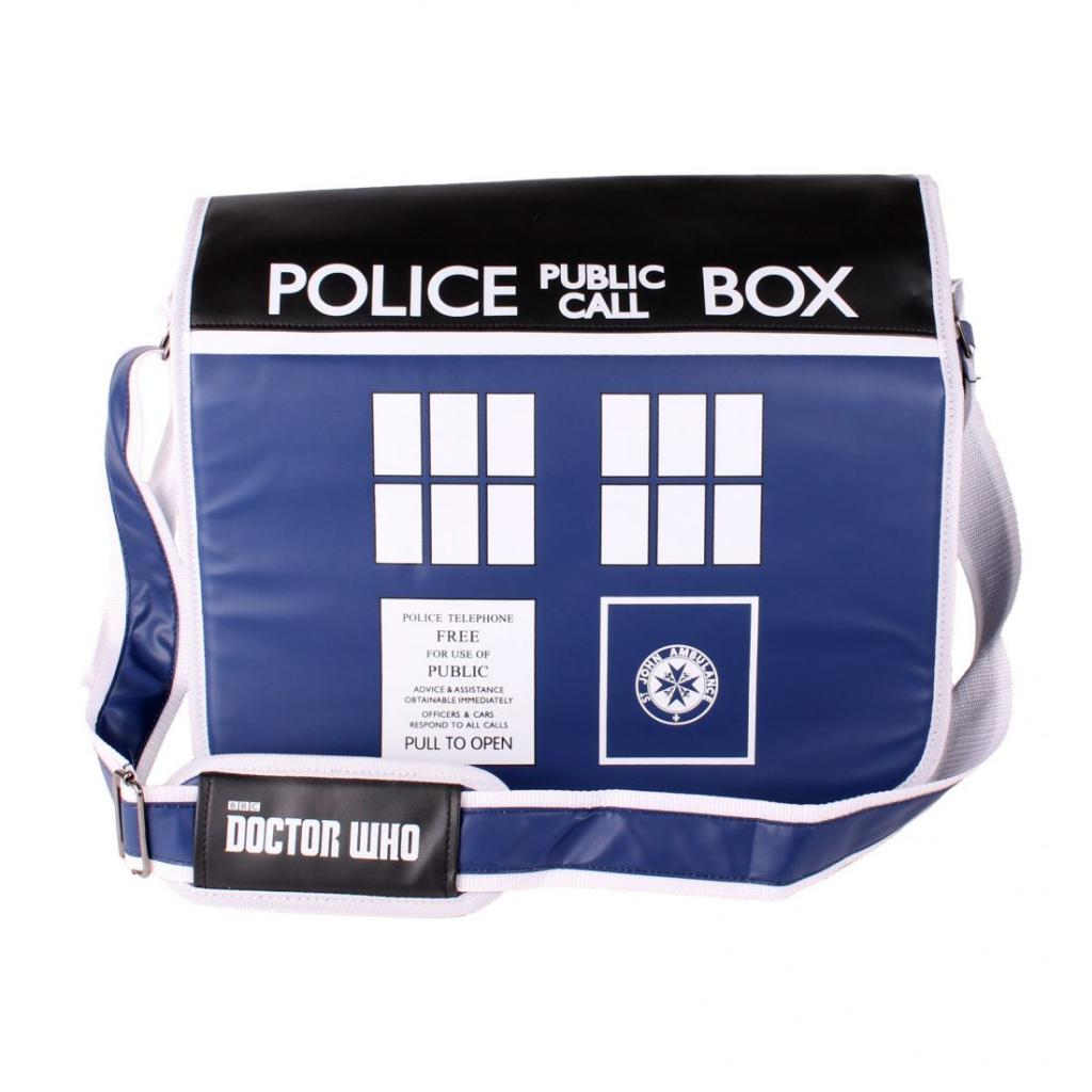 DOCTOR WHO - Sacoche PC - Police Box Computer Bag