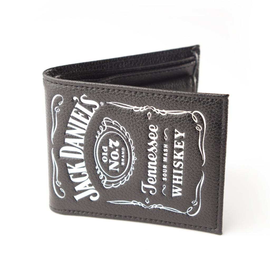 JACK DANIEL'S - Bifold Wallet with Classic Logo
