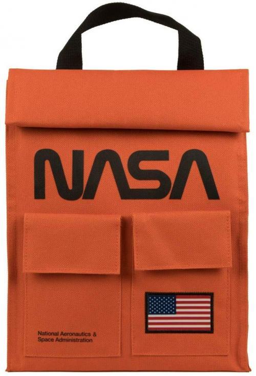 NASA - Orange - Sac pour lunch