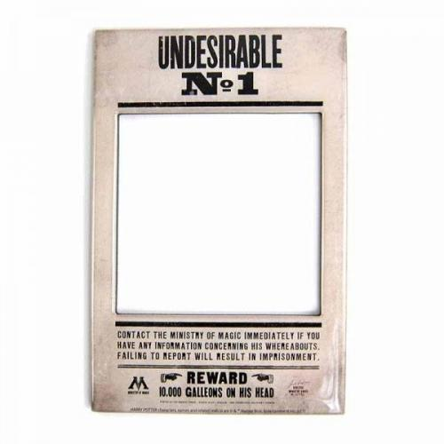 HARRY POTTER - Photo Frame Magnet 10 X 15 - Undesirable N° 1