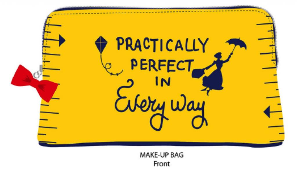 MARY POPPINS - Cosmetic Bag - Practically Perfect