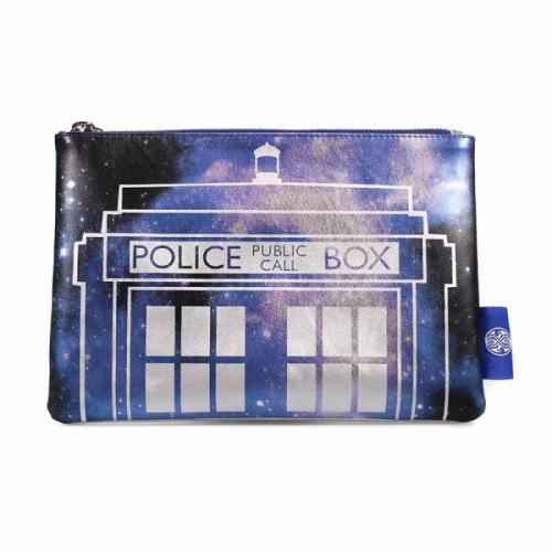 DOCOTR WHO - Cosmetic Bag 23.5 X 16 - Galaxy