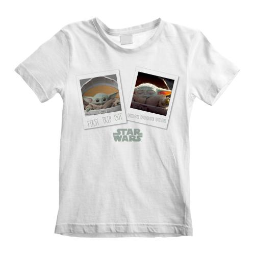 MANDALORIAN - T-Shirt Kids - The Child First Day Out - (S)