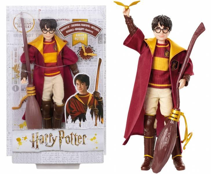 HARRY POTTER - Action Figure - Harry Potter Quidditch - 26cm