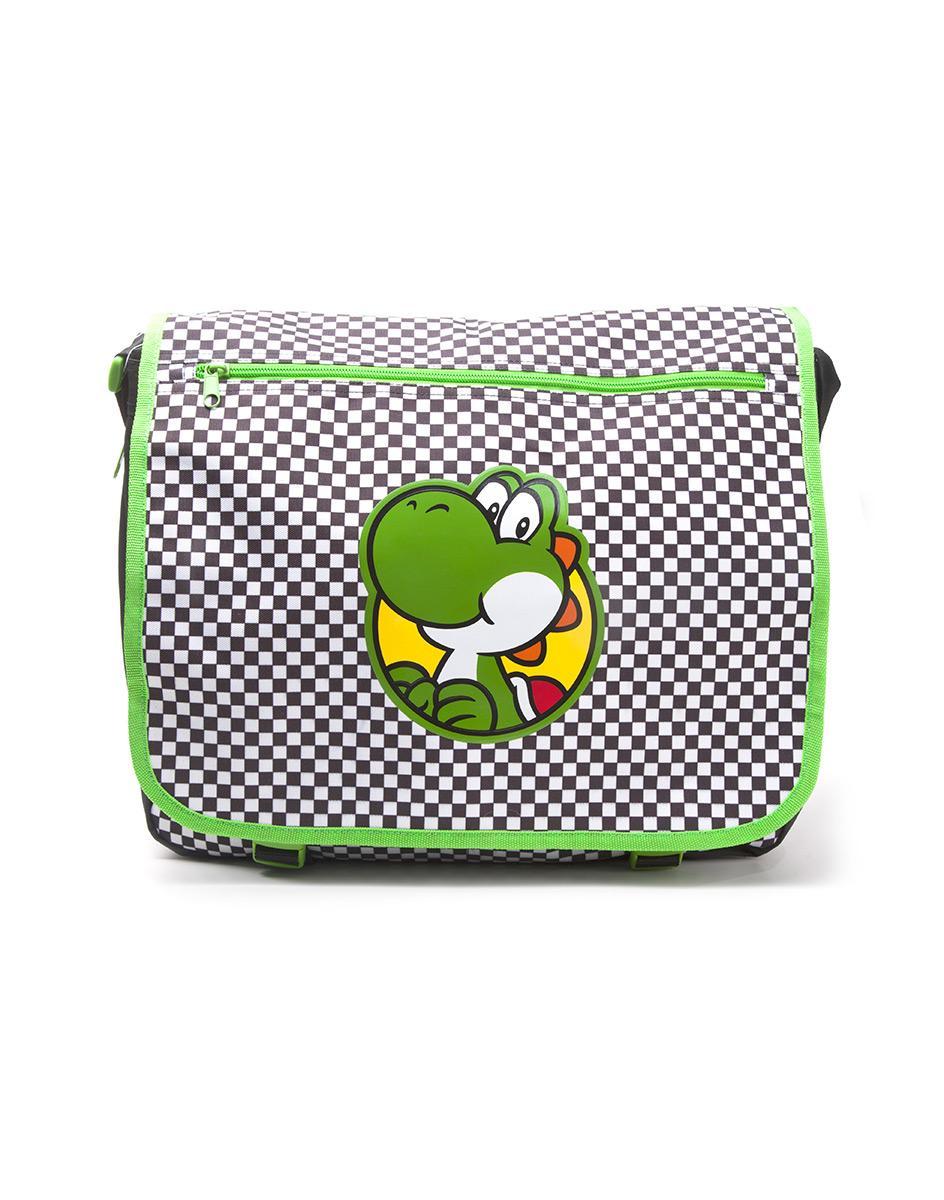 NINTENDO - Yoshi Chekered Messenger Bag
