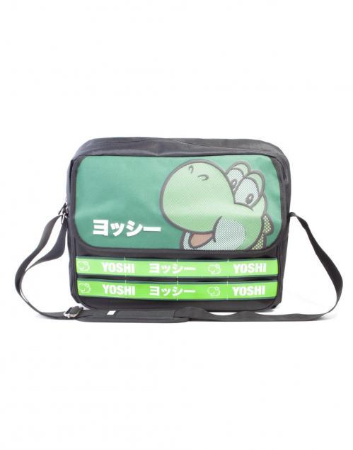 NINTENDO - Super Mario Yoshi Messenger Bag