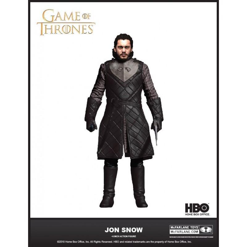 GAME OF THRONES - Action Figure - Jon Snow - 18cm 'Reprod'