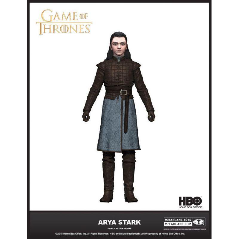 GAME OF THRONES - Action Figure - Arya Stark - 18cm