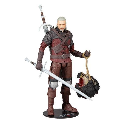 THE WITCHER 3 - Geralt of Rivia (Wolf Armor) - Figurine articulée 18cm