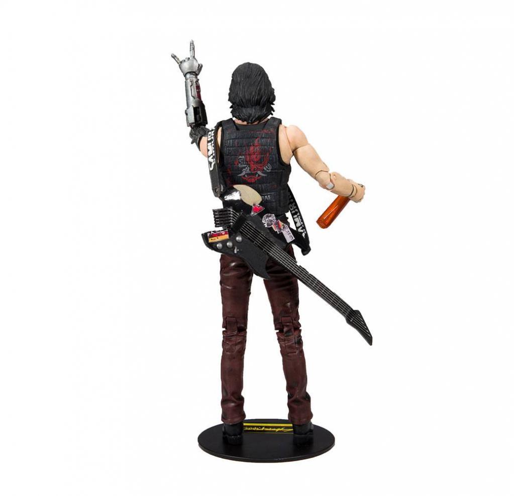 CYBERPUNK 2077 - Johnny Silverhands - Figurine articulée 18cm_3