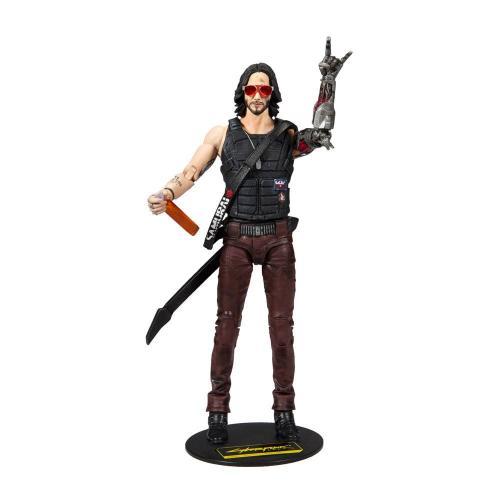 CYBERPUNK 2077 - Johnny Silverhands - Figurine articulée 18cm