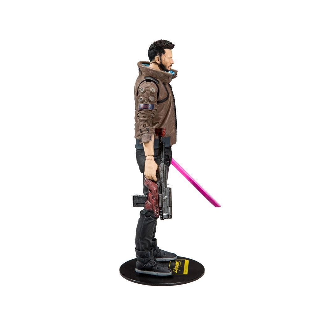 CYBERPUNK 2077 - Male V - Figurine articulée 18cm_4