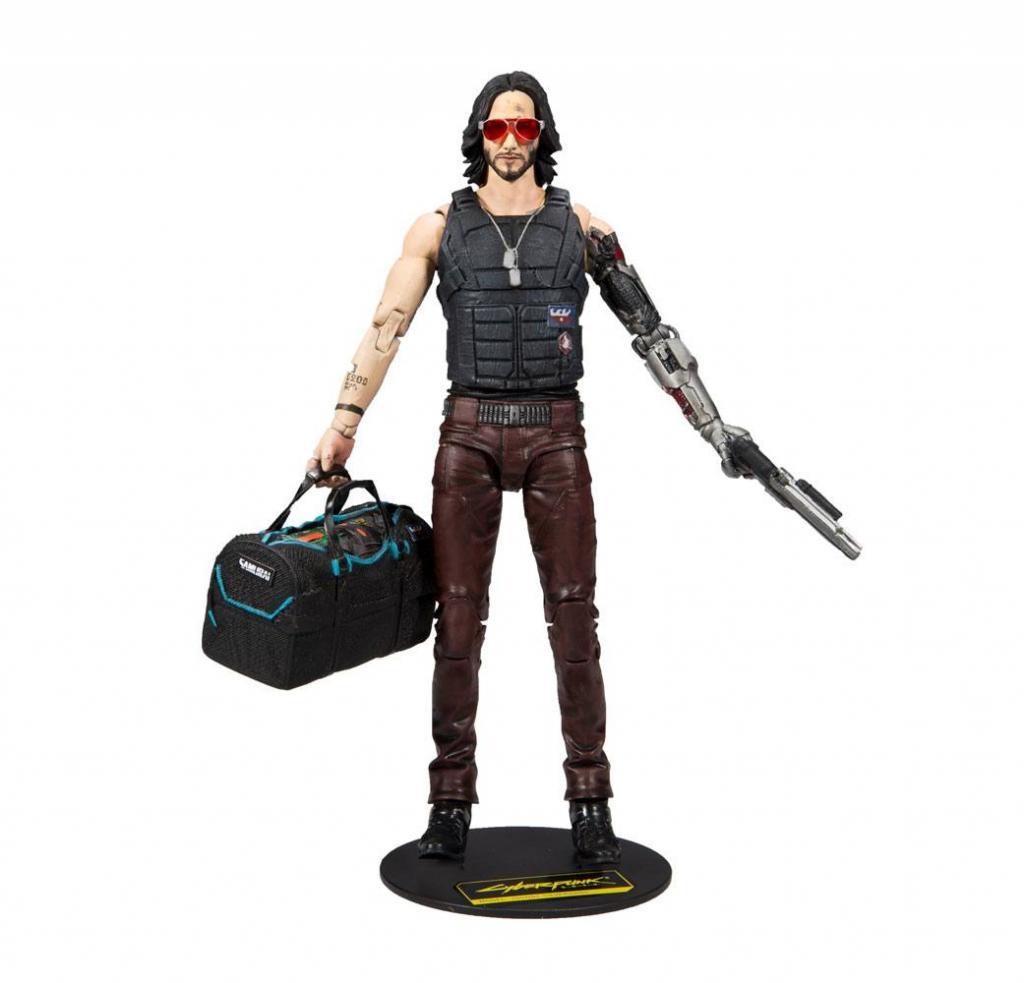 CYBERPUNK 2077 - Johnny Silverhand Exclusive - Figurine articulée 18cm_1