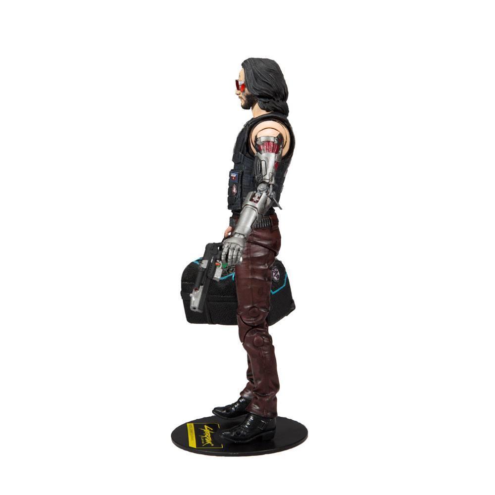 CYBERPUNK 2077 - Johnny Silverhand Exclusive - Figurine articulée 18cm_2