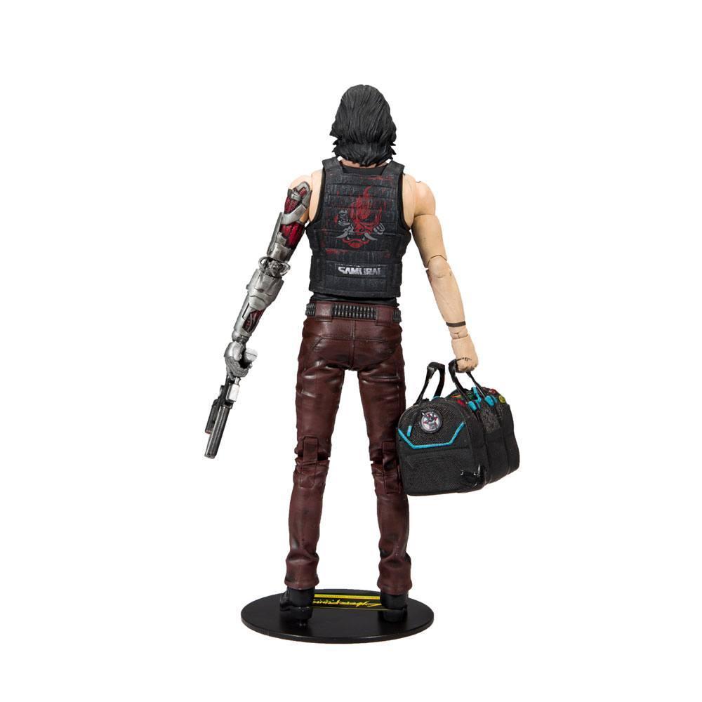 CYBERPUNK 2077 - Johnny Silverhand Exclusive - Figurine articulée 18cm_3