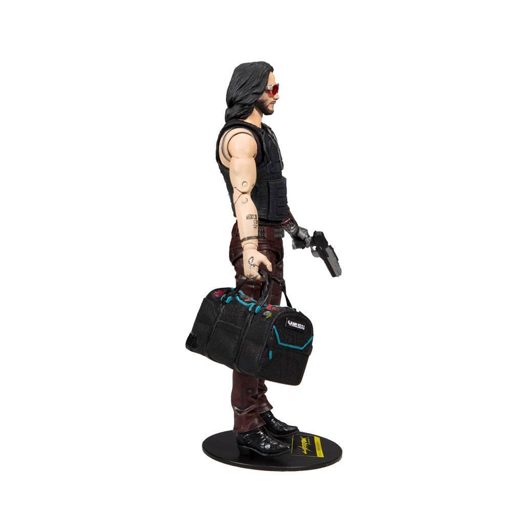 CYBERPUNK 2077 - Johnny Silverhand Exclusive - Figurine articulée 18cm_4