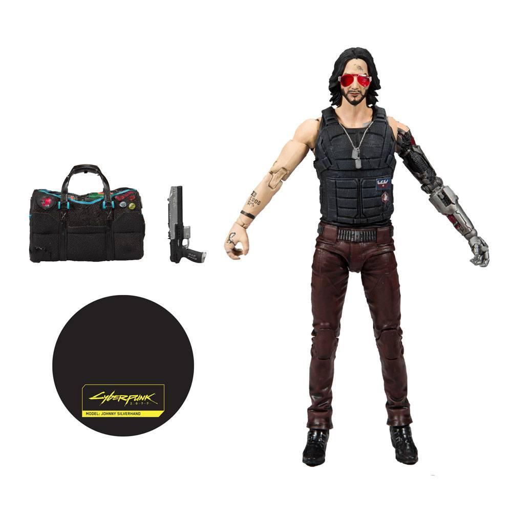 CYBERPUNK 2077 - Johnny Silverhand Exclusive - Figurine articulée 18cm_5