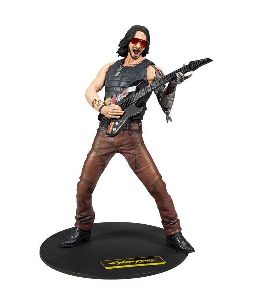 CYBERPUNK 2077 - Johnny Silverhand - Figurine 30cm_1