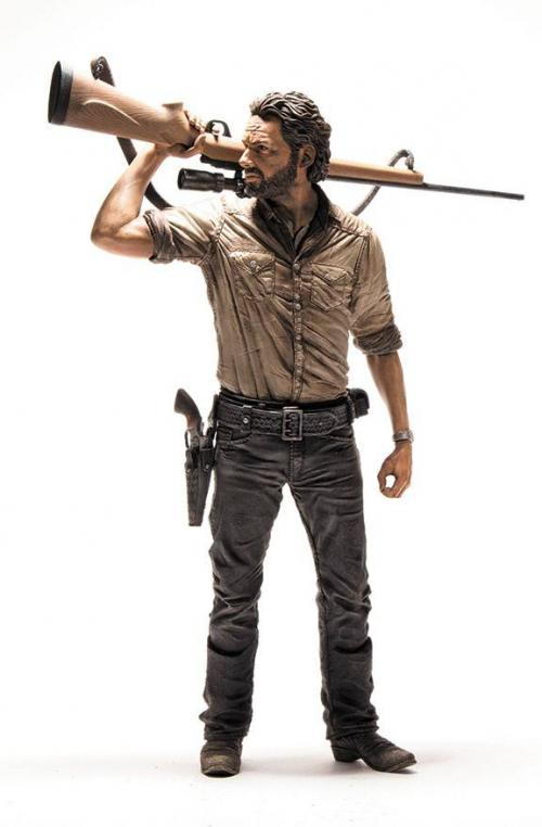 WALKING DEAD - Action Figure Deluxe - Rick Grimes - 25cm