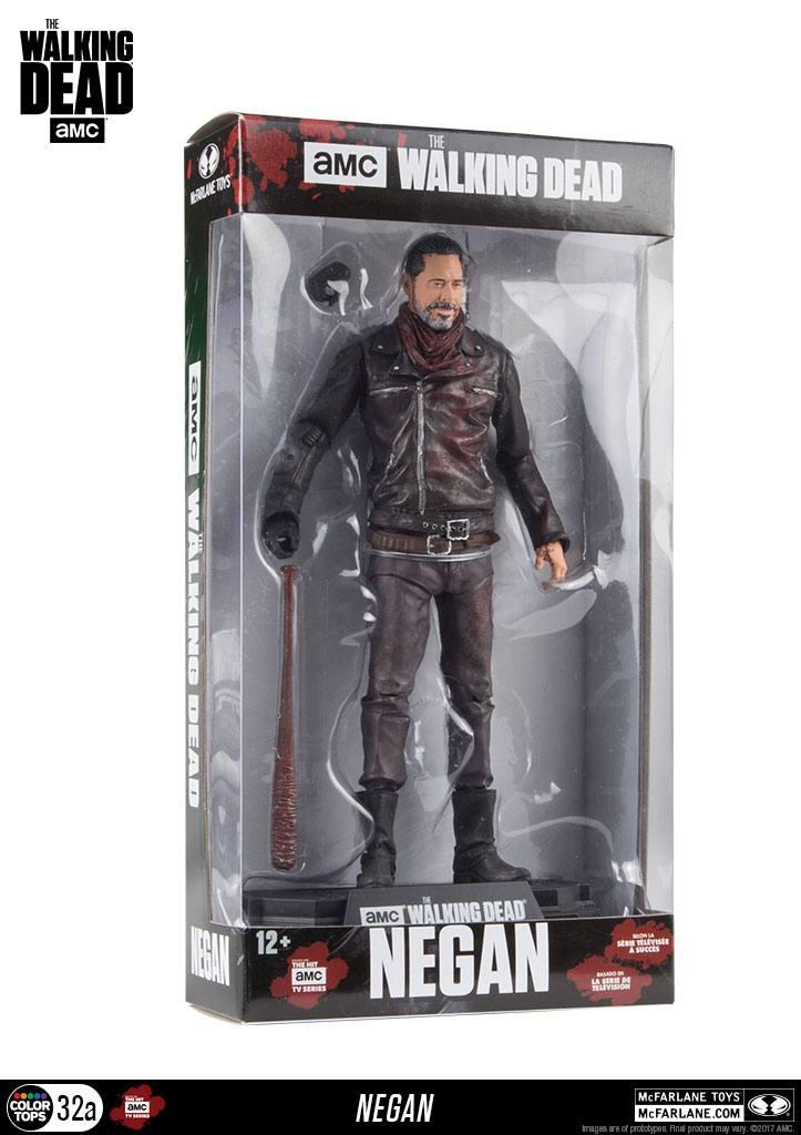 WALKING DEAD - Action Figure - Negan Bloddy Edition - 18cm