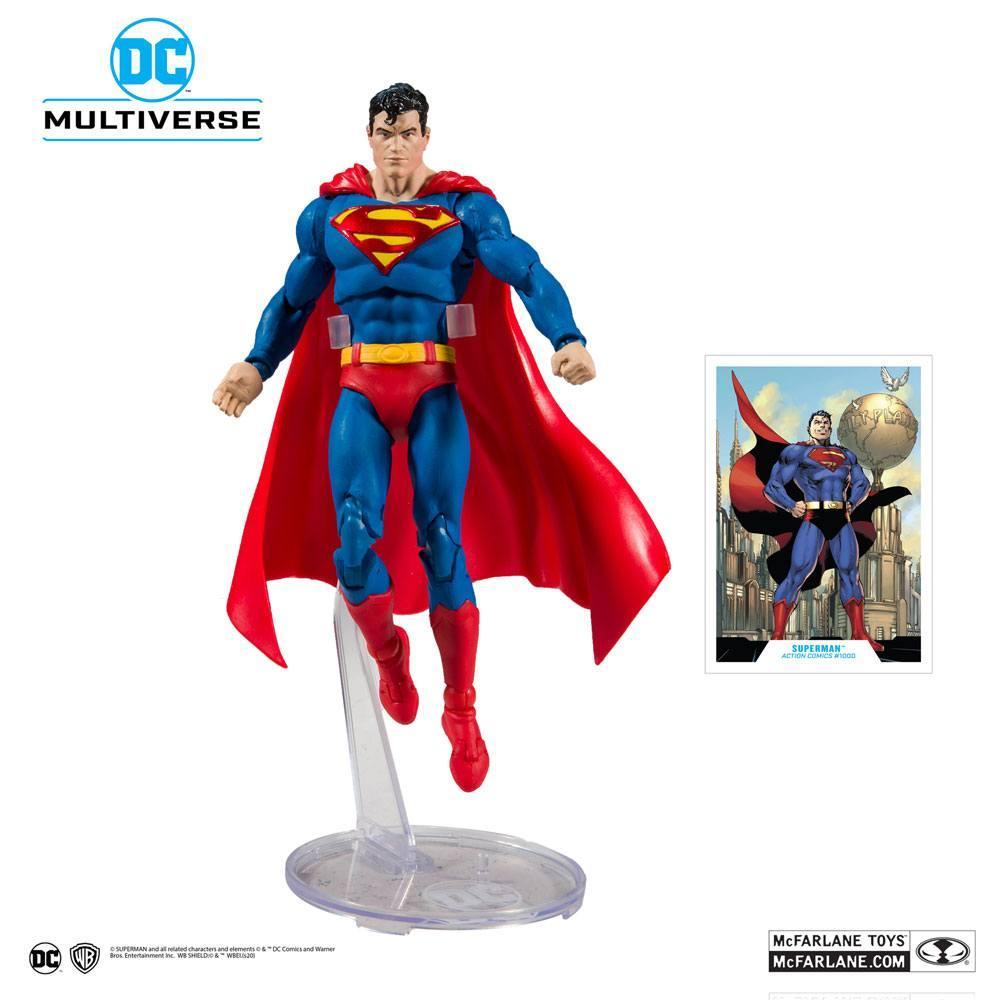 DC REBIRTH - Superman Action Comics #1000 - Figurine articulée 18cm_1