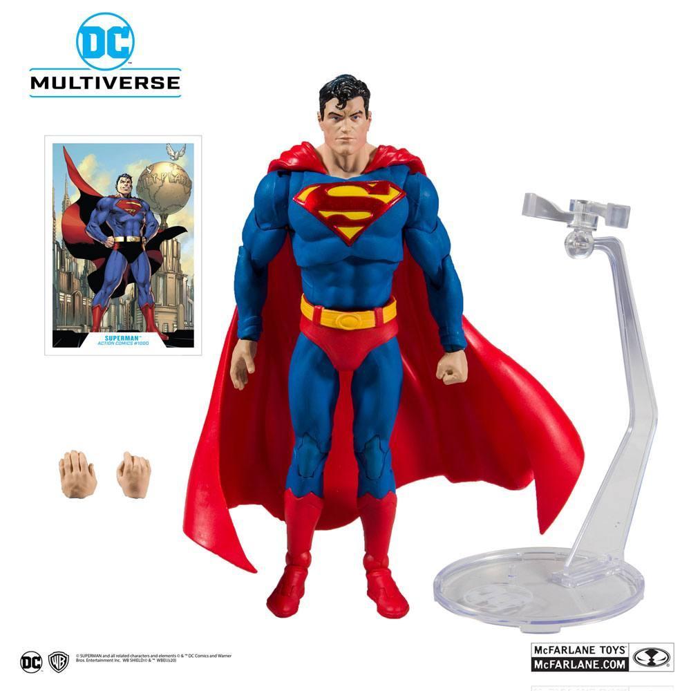 DC REBIRTH - Superman Action Comics #1000 - Figurine articulée 18cm_5