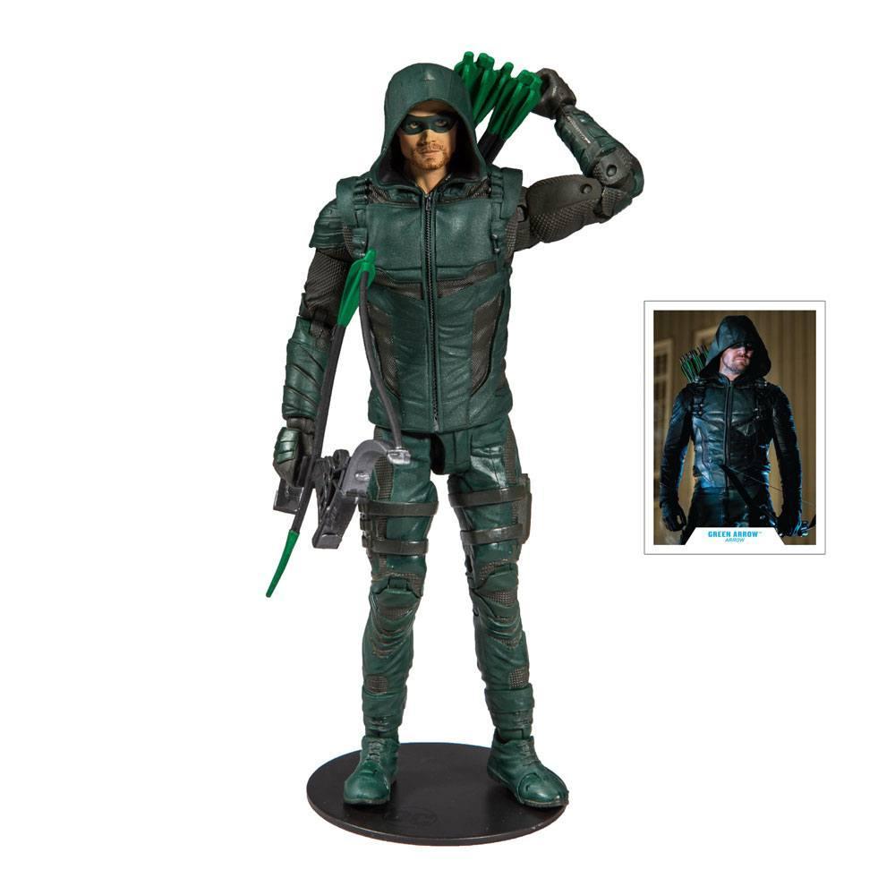 DC COMICS - Green Arrow - Figurine articulée 18cm_1
