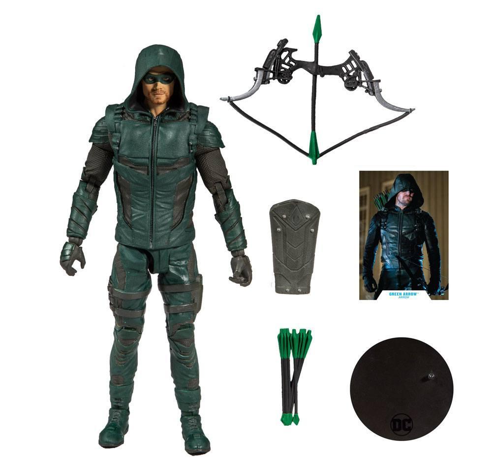 DC COMICS - Green Arrow - Figurine articulée 18cm_4