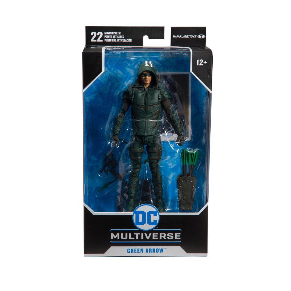 DC COMICS - Green Arrow - Figurine articulée 18cm_6