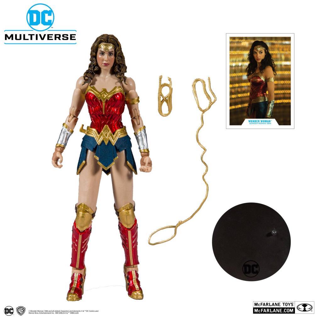DC MULTIVERSE - Wonder Woman 1984 - Figurine articulée 18cm_6