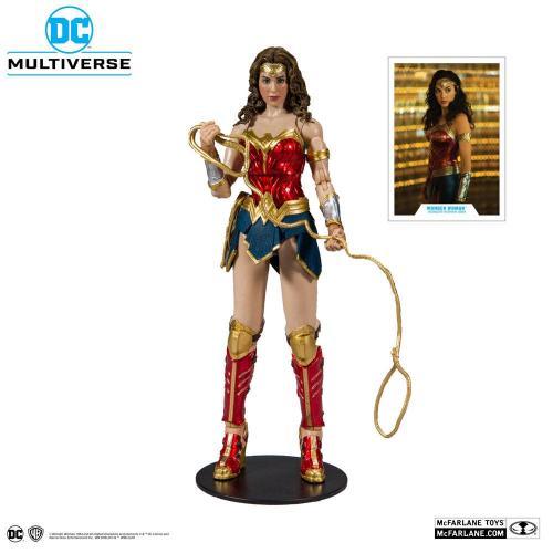DC MULTIVERSE - Wonder Woman 1984 - Figurine articulée 18cm