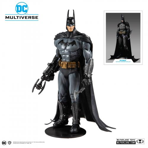 DC COMICS - Batman Arkham Asylum - Batman - Figurine articulée 18cm