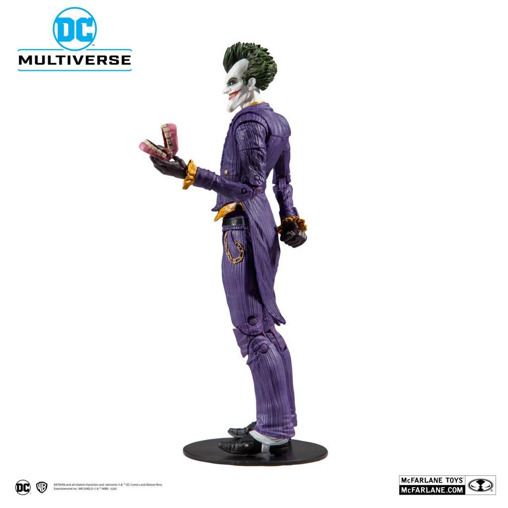 DC COMICS - Batman Arkham Asylum - Joker - Figurine articulée 18cm_2
