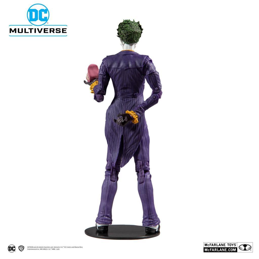 DC COMICS - Batman Arkham Asylum - Joker - Figurine articulée 18cm_3