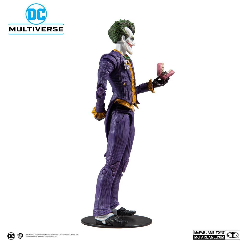 DC COMICS - Batman Arkham Asylum - Joker - Figurine articulée 18cm_4