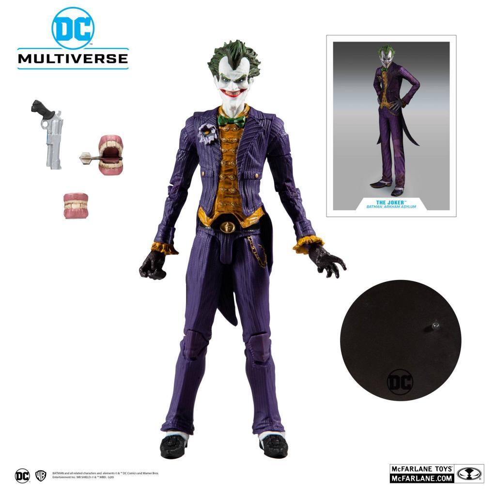 DC COMICS - Batman Arkham Asylum - Joker - Figurine articulée 18cm_6