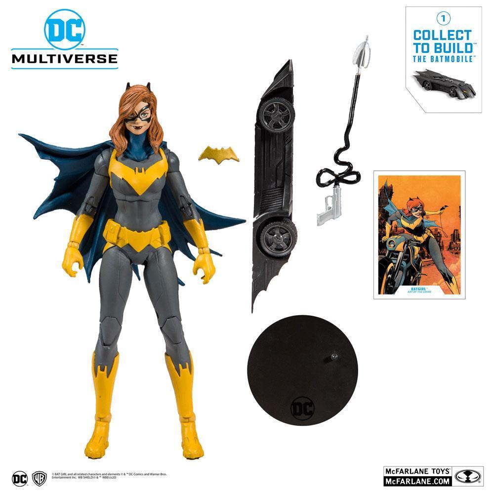 DC REBIRTH - Batgirl Art of the Crime - Figurine articulée 18cm_5
