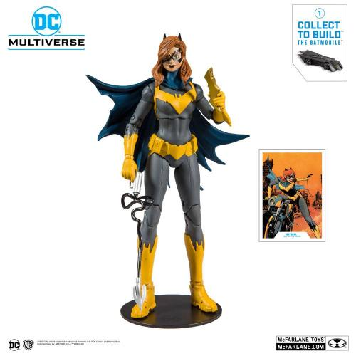 DC REBIRTH - Batgirl Art of the Crime - Figurine articulée 18cm