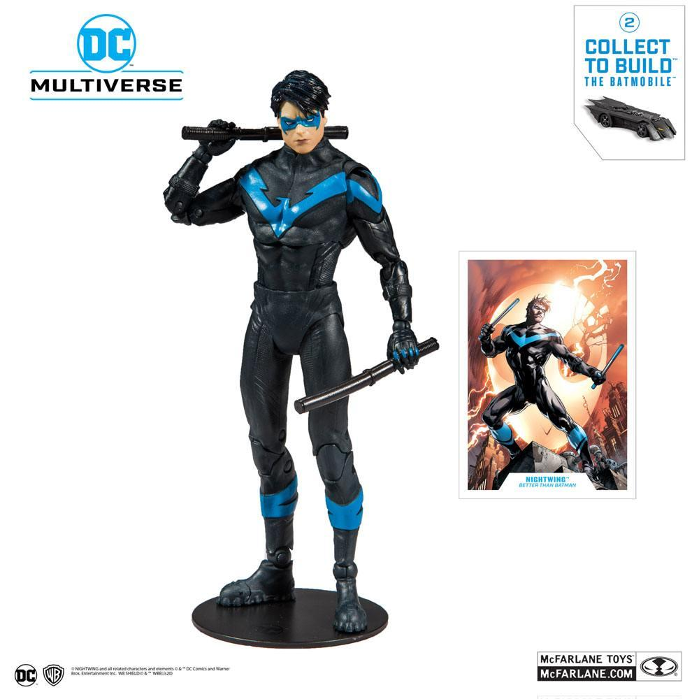 DC REBIRTH - Nightwing Better Than Batman - Figurine articulée 18cm_1